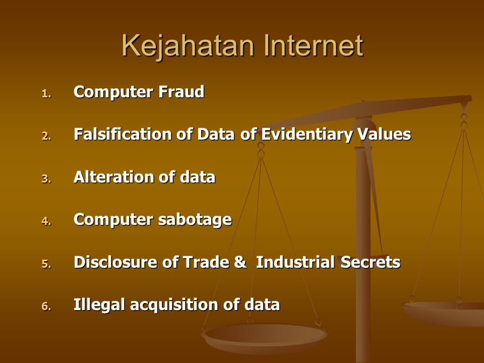 Kejahatan Internet Computer Fraud