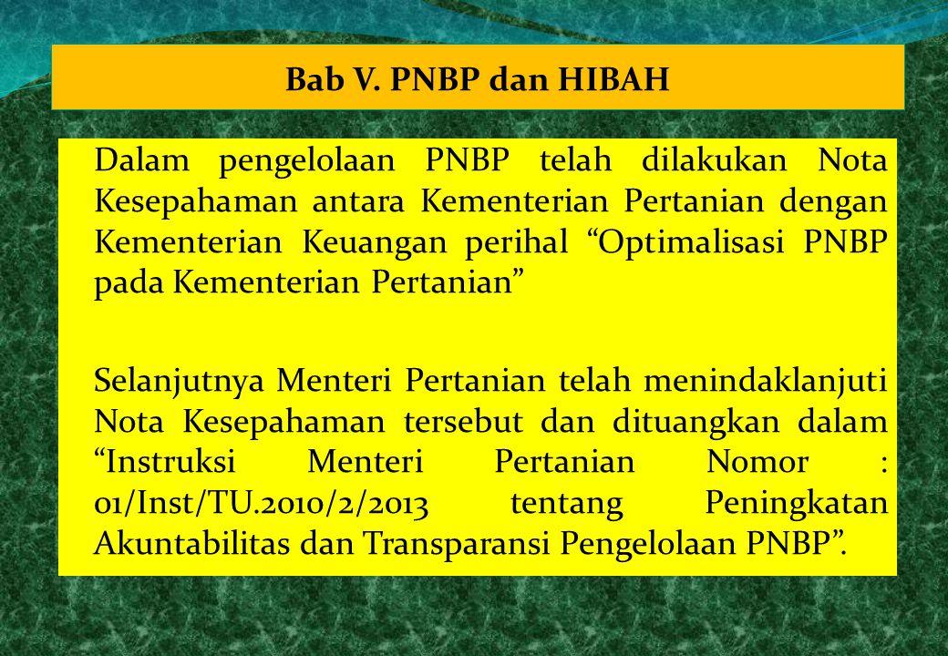 Bab V. PNBP dan HIBAH