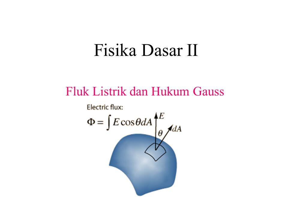 Fluk Listrik dan Hukum Gauss