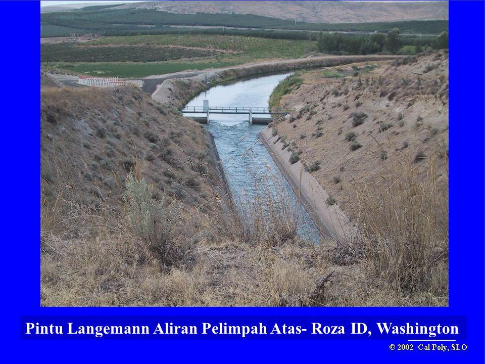 Pintu Langemann Aliran Pelimpah Atas- Roza ID, Washington