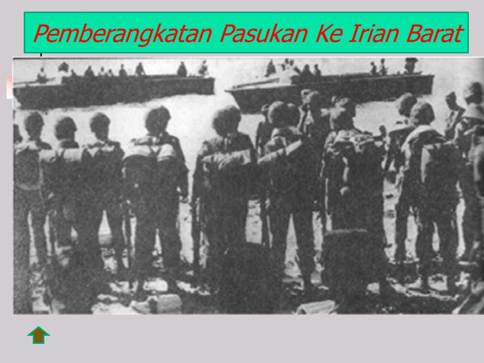 Pemberangkatan Pasukan Ke Irian Barat