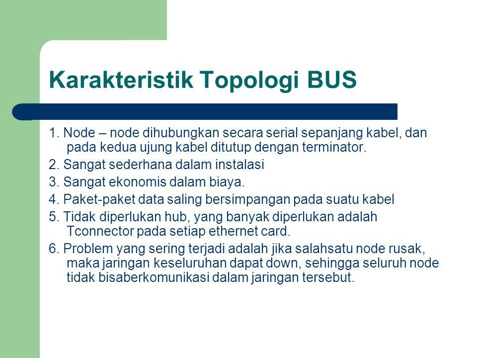 Karakteristik Topologi BUS