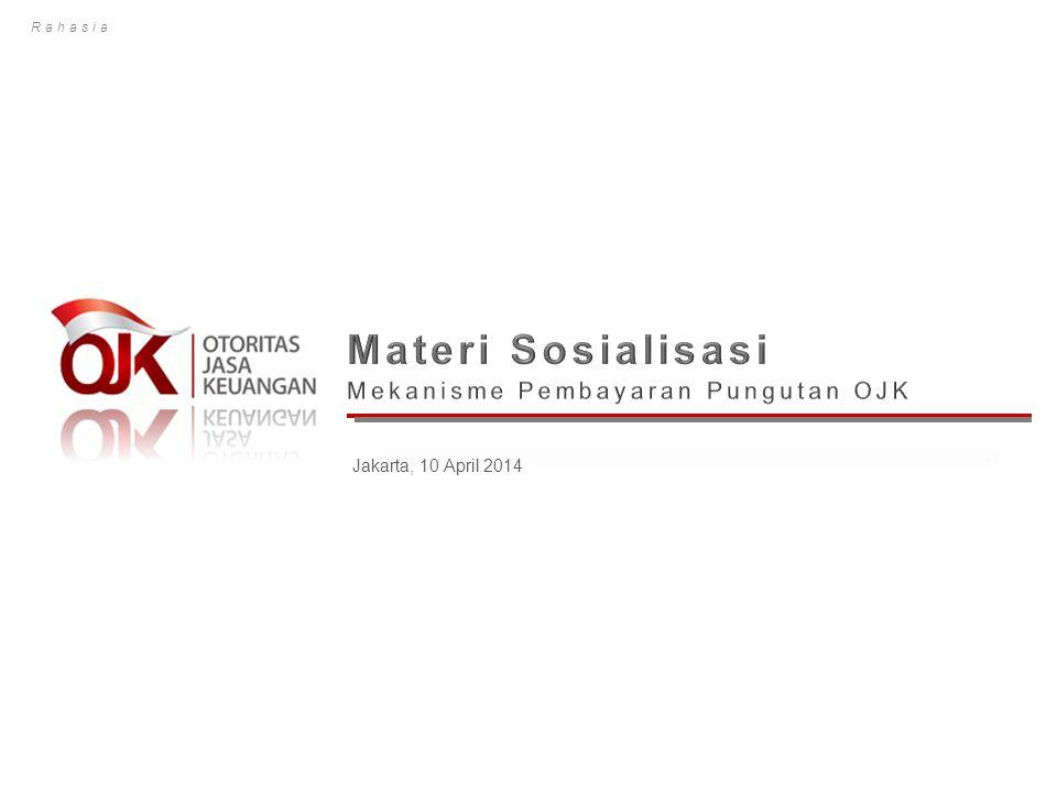Materi Sosialisasi Mekanisme Pembayaran Pungutan OJK