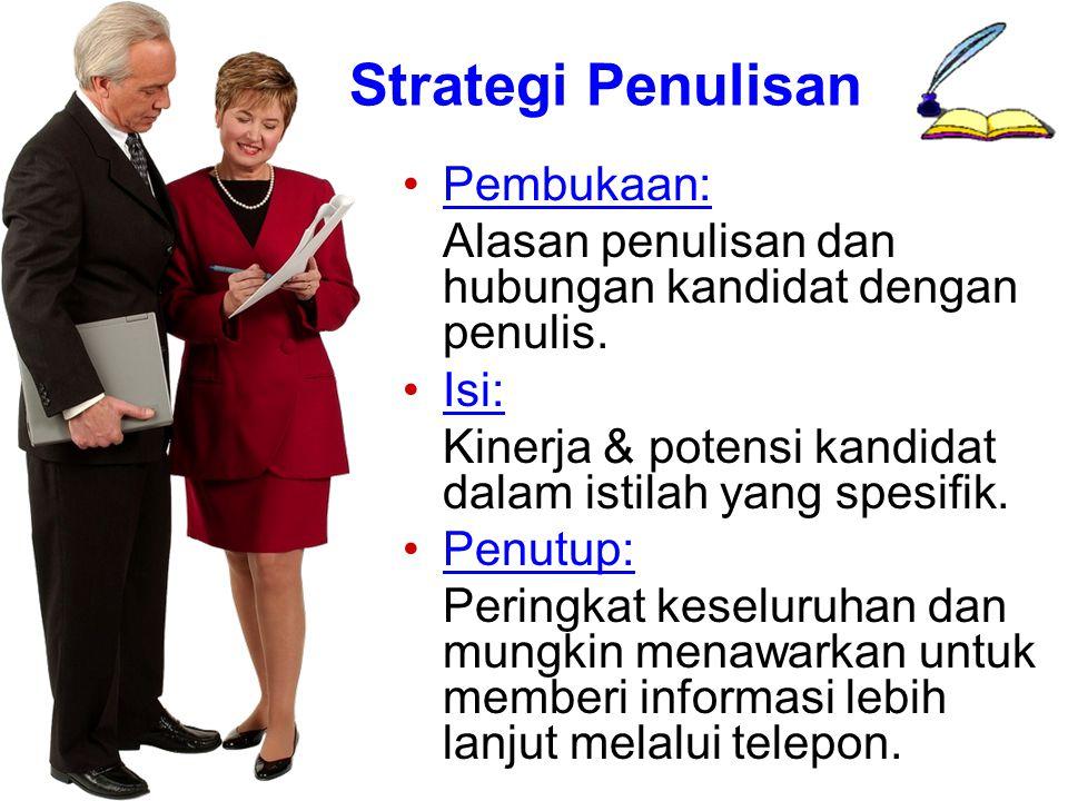 Strategi Penulisan Pembukaan: