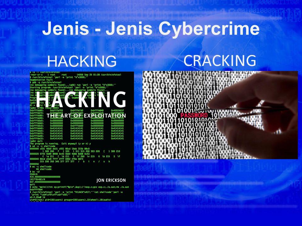 Jenis - Jenis Cybercrime