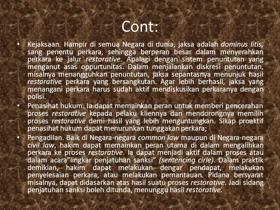 Cont: