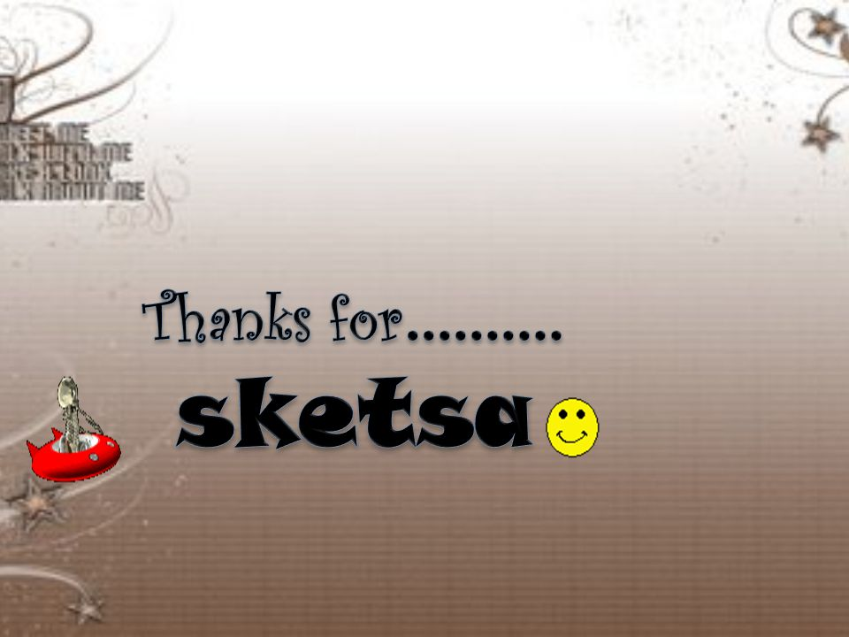 Thanks for………. sketsa
