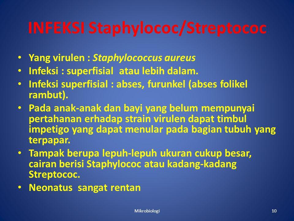 INFEKSI Staphylococ/Streptococ