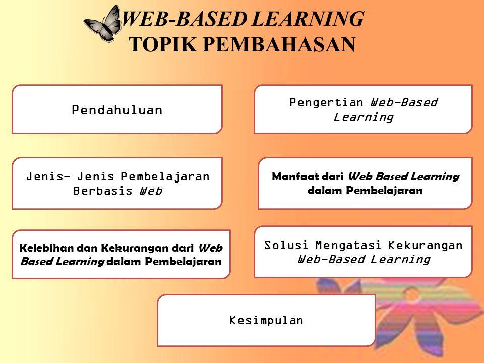 WEB-BASED LEARNING TOPIK PEMBAHASAN