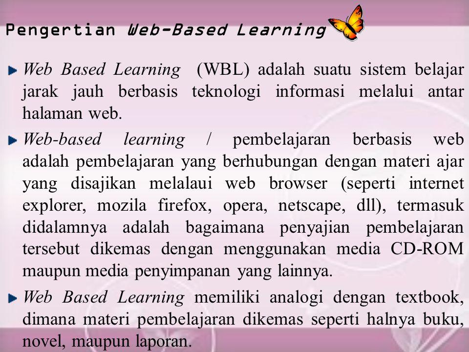 Pengertian Web-Based Learning