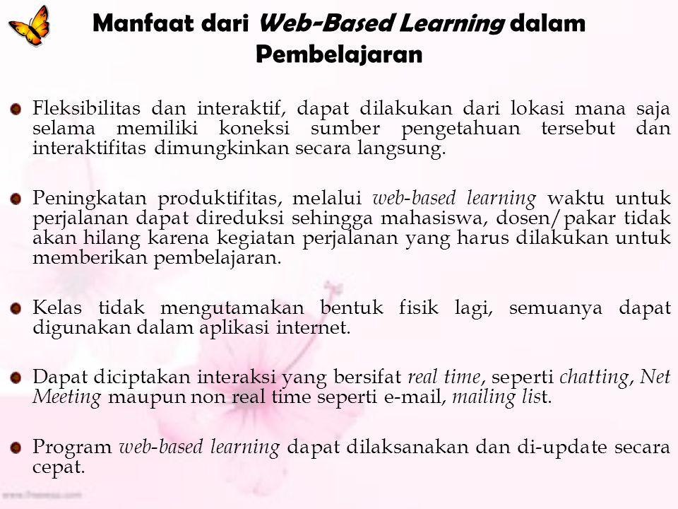 Manfaat dari Web-Based Learning dalam Pembelajaran