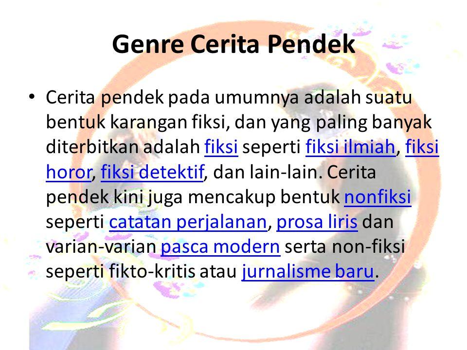 Genre Cerita Pendek