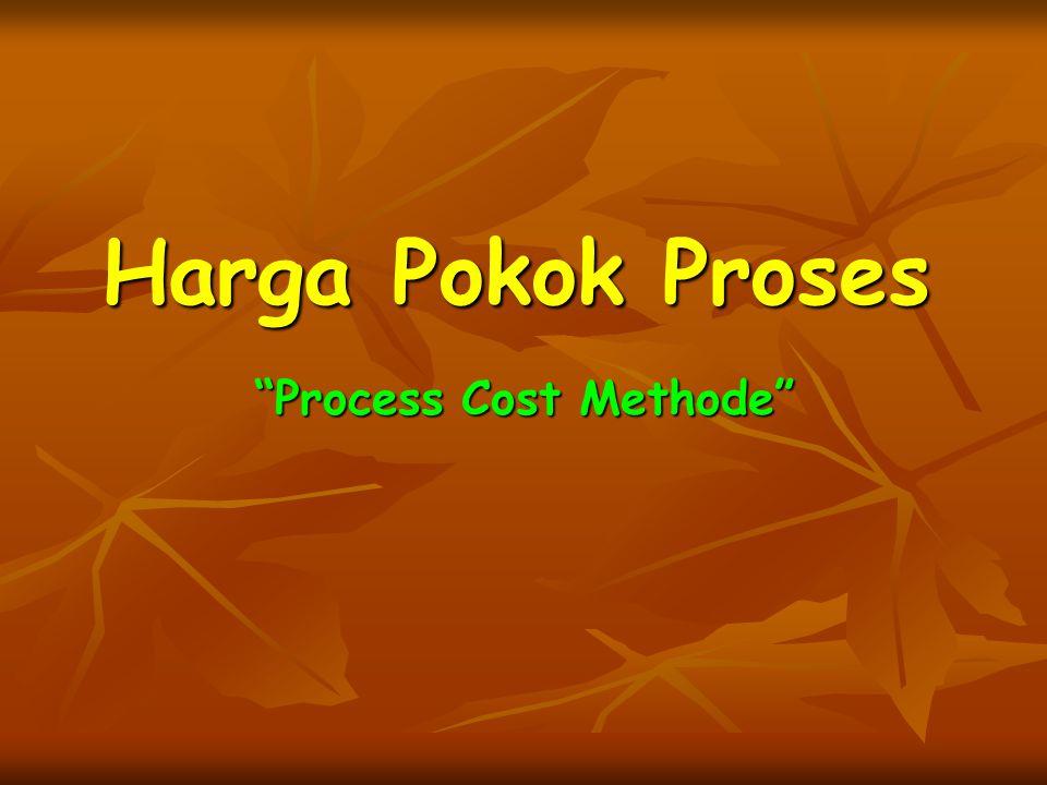 Process Cost Methode