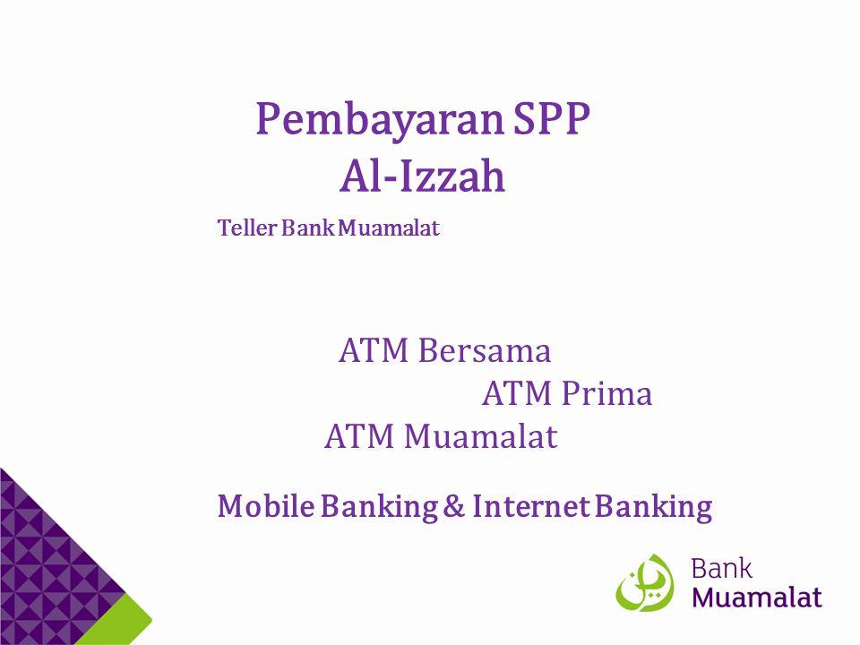 Pembayaran SPP Al-Izzah