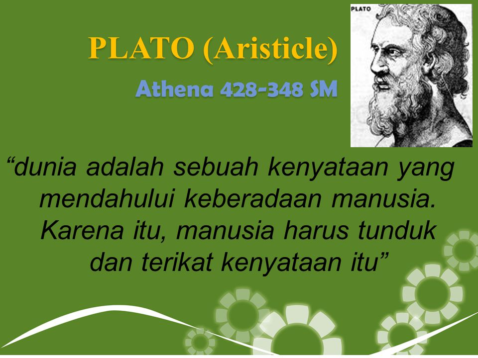 PLATO (Aristicle) Athena 428-348 SM