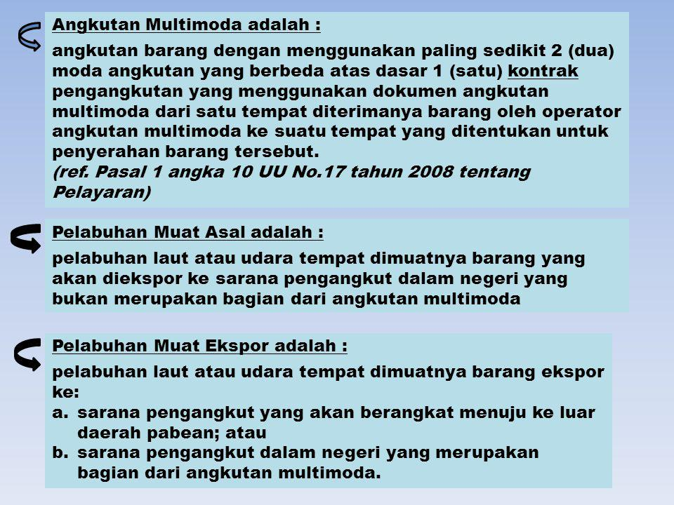 Angkutan Multimoda adalah :