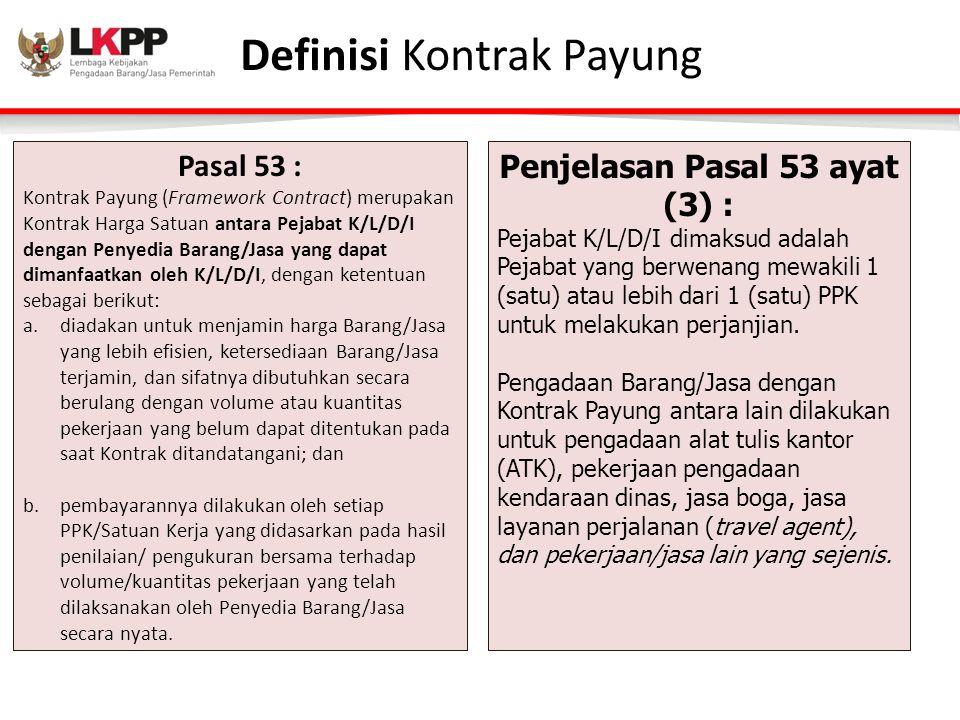 Definisi Kontrak Payung
