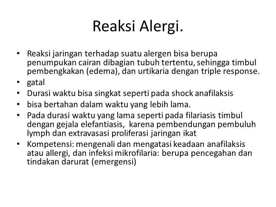 Reaksi Alergi.