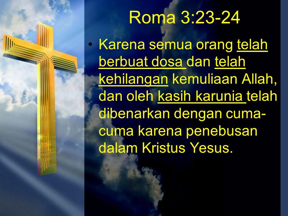Roma 3:23-24