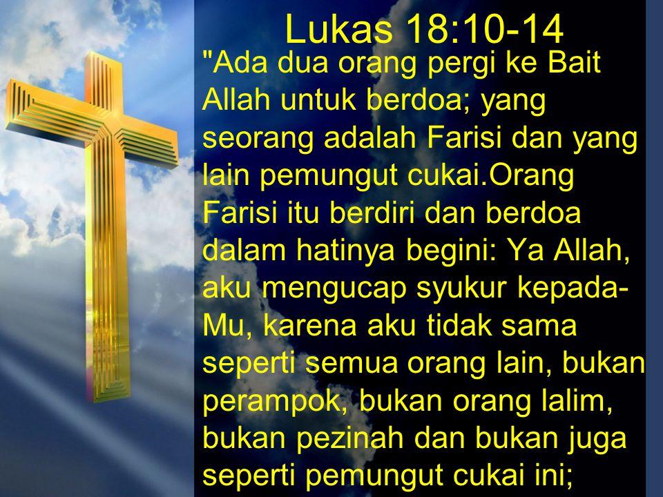 Lukas 18:10-14