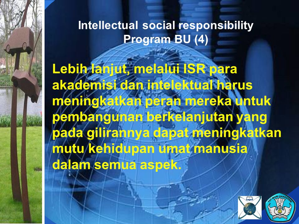 Intellectual social responsibility