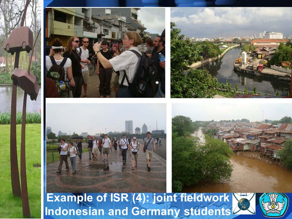 Example of ISR (4): joint fieldwork Indonesian and Germany students