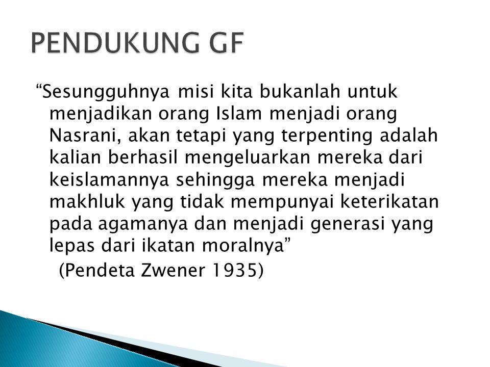 PENDUKUNG GF