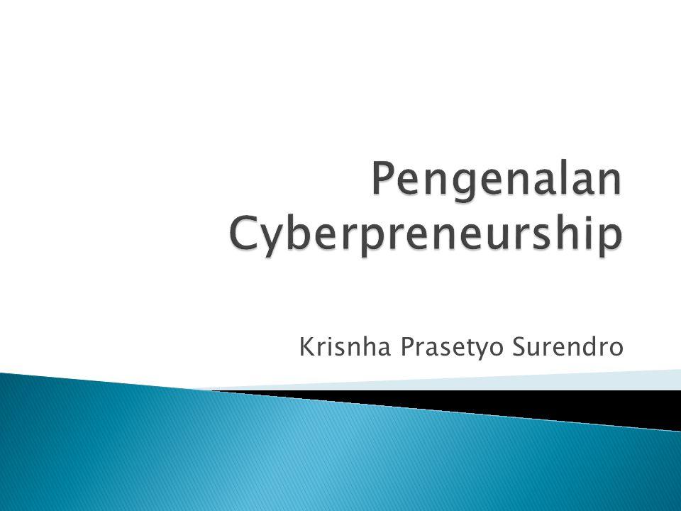 Pengenalan Cyberpreneurship
