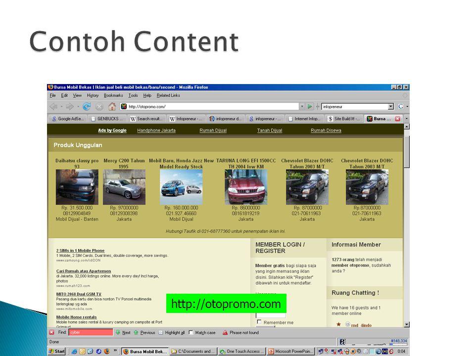 Contoh Content http://otopromo.com