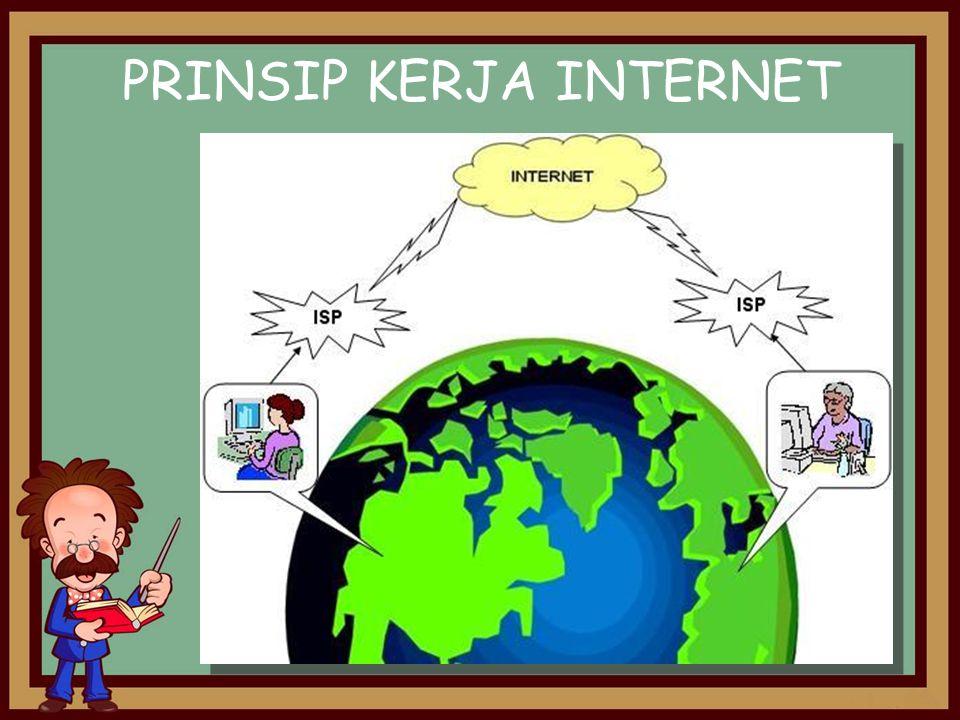 PRINSIP KERJA INTERNET