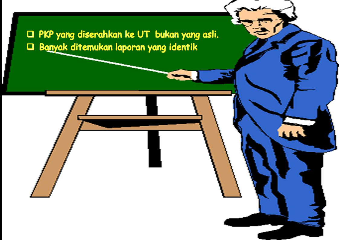 PKP yang diserahkan ke UT bukan yang asli.