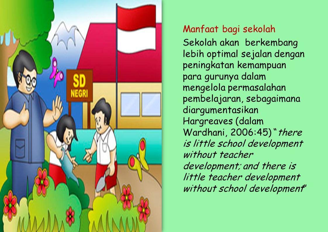 Manfaat bagi sekolah