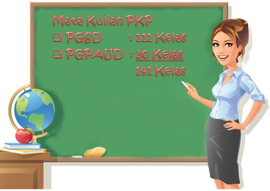 Mata Kuliah PKP PGSD : 111 Kelas PGPAUD : 30 Kelas 141 Kelas