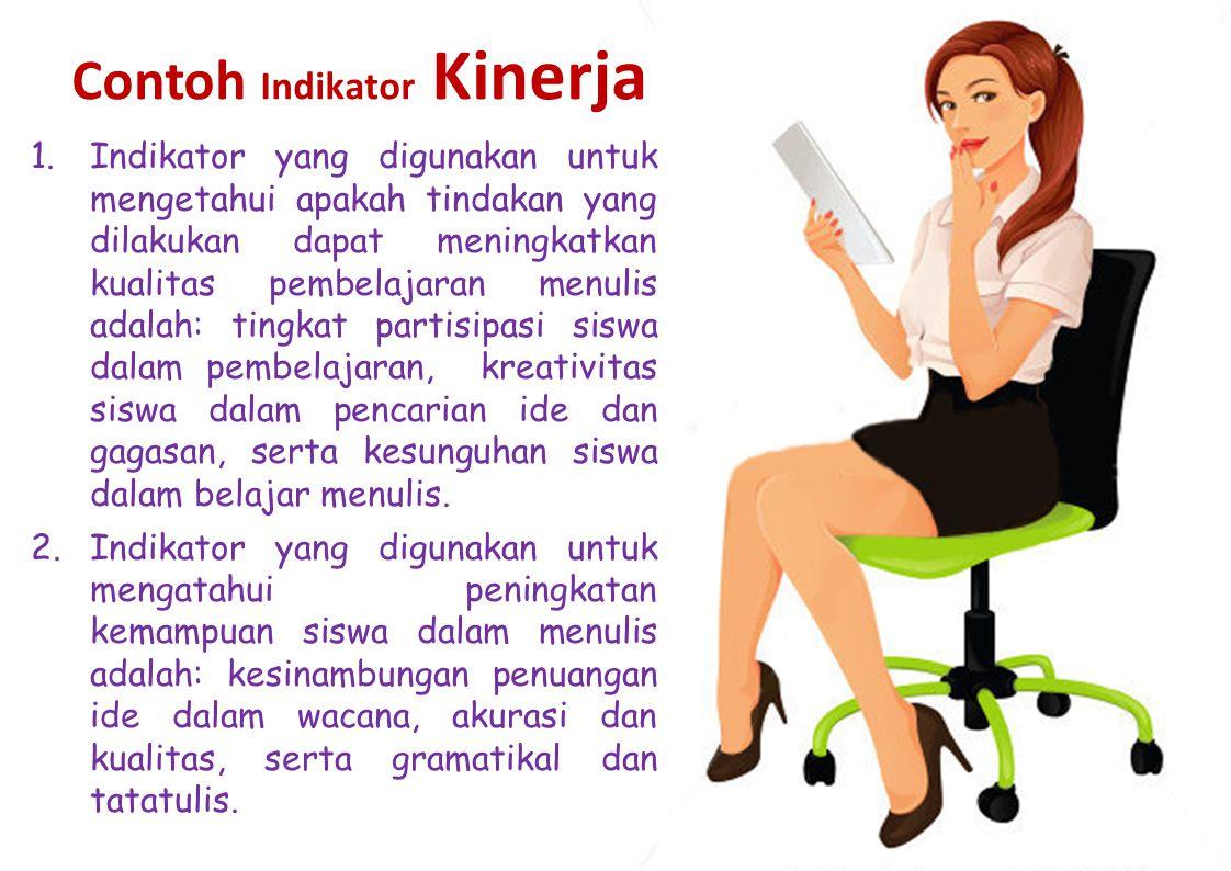 Contoh Indikator Kinerja