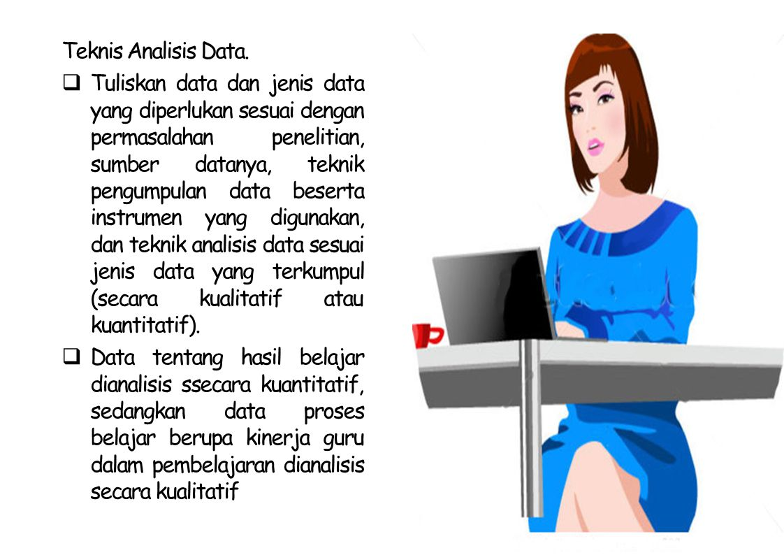 Teknis Analisis Data.