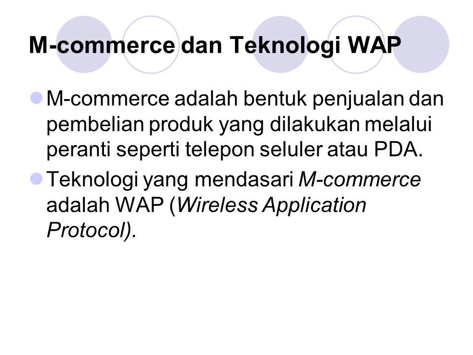 M-commerce dan Teknologi WAP