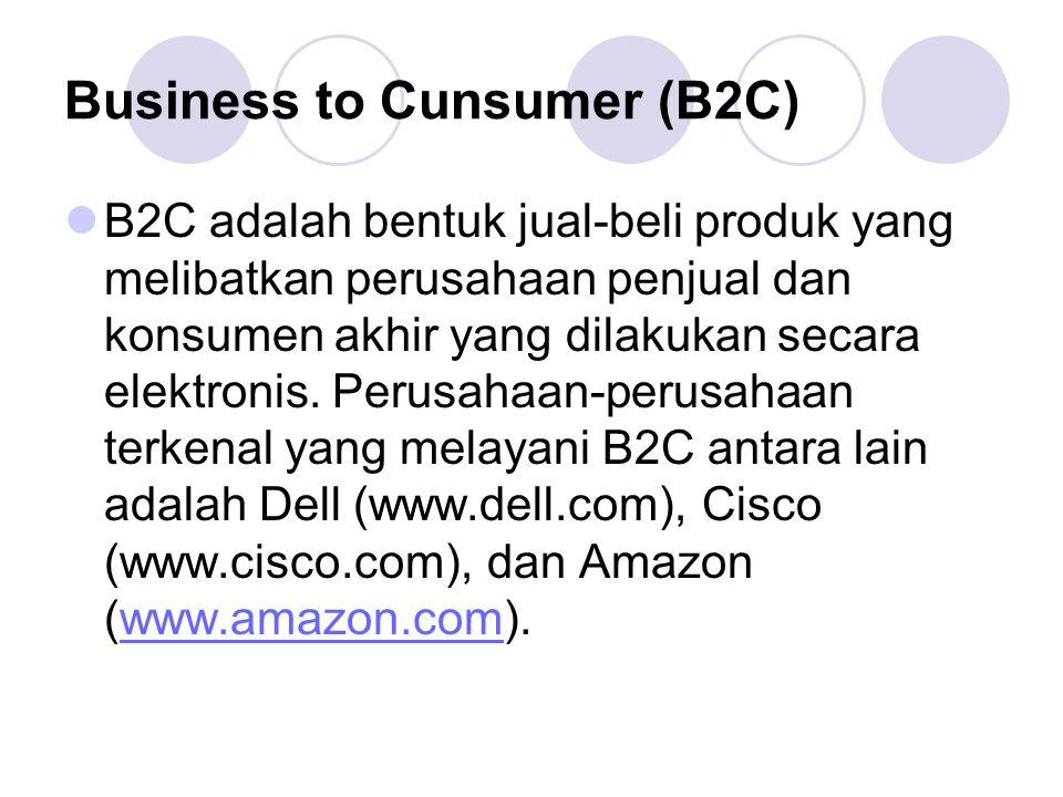 Business to Cunsumer (B2C)