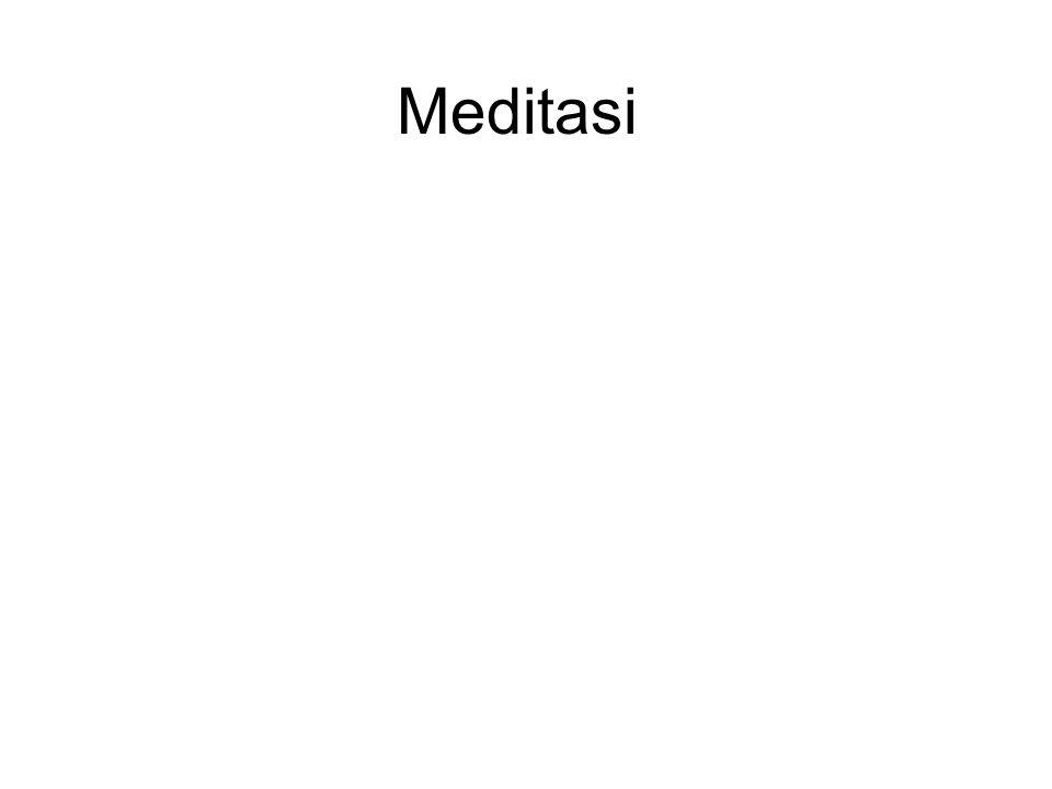 Meditasi Meditasi is not to : Get High .