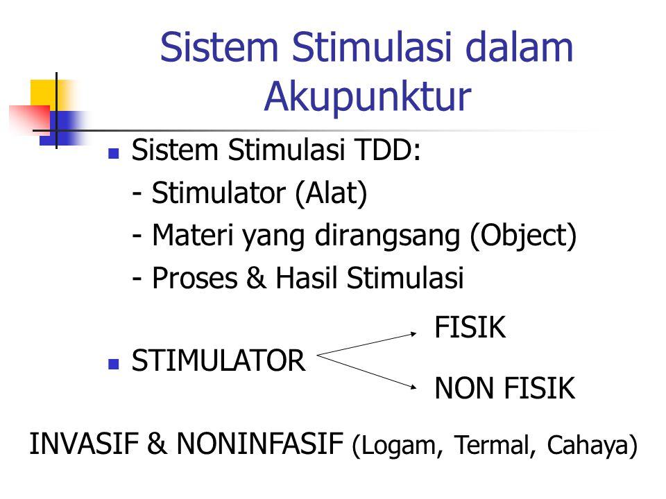 Sistem Stimulasi dalam Akupunktur