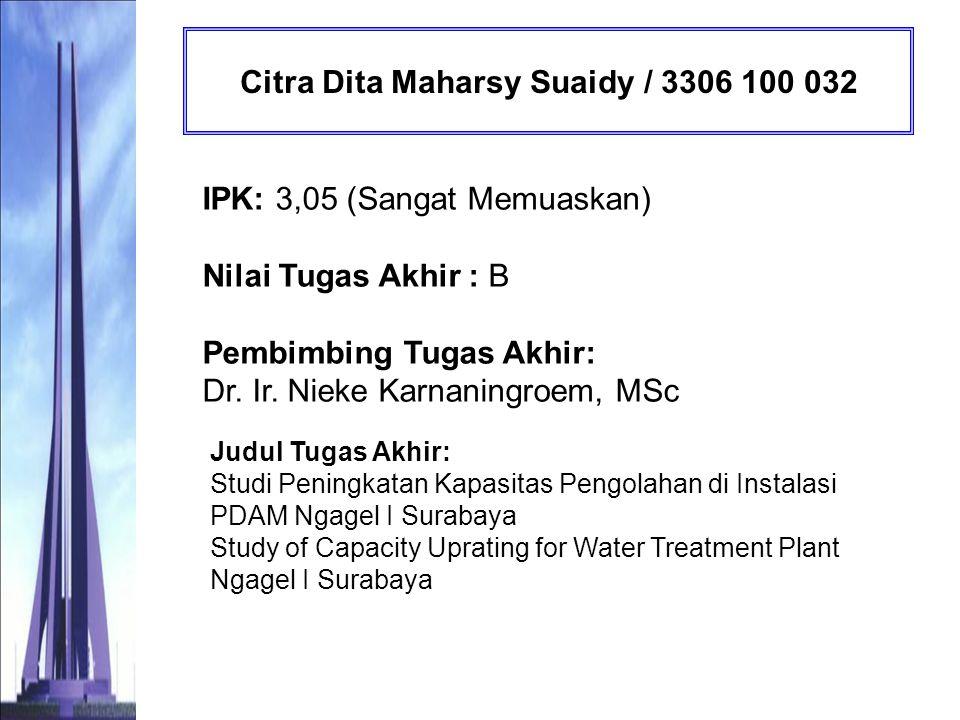 Citra Dita Maharsy Suaidy / 3306 100 032