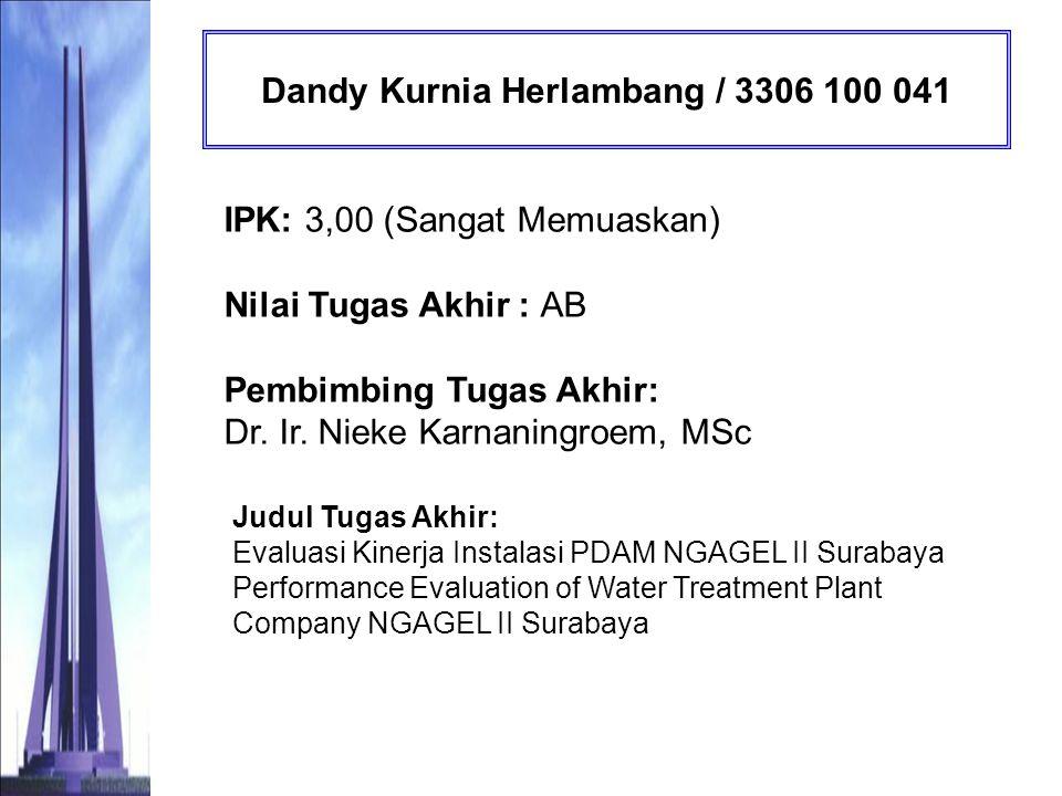 Dandy Kurnia Herlambang / 3306 100 041