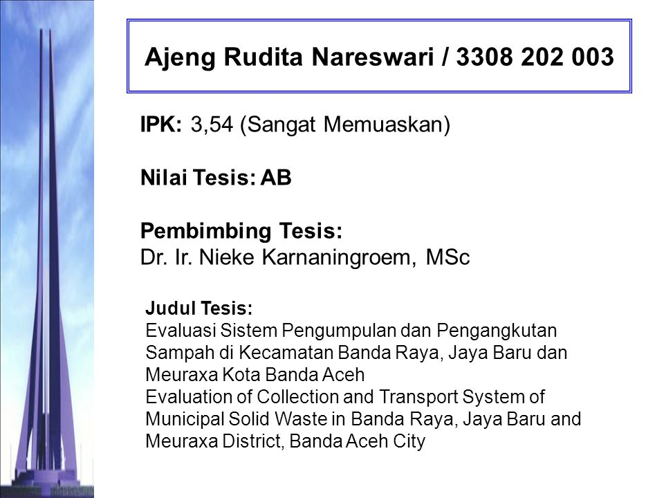 Ajeng Rudita Nareswari / 3308 202 003