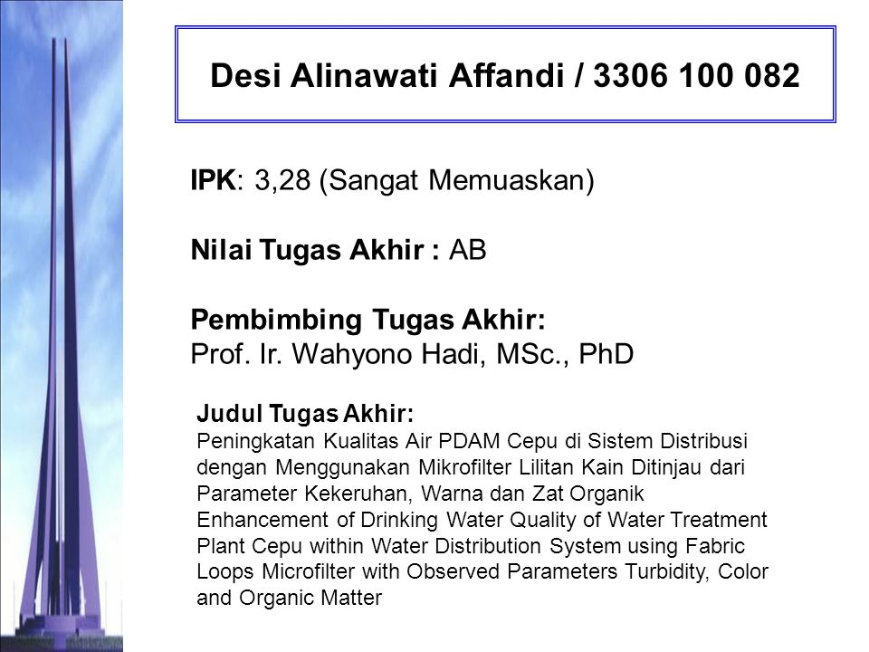 Desi Alinawati Affandi / 3306 100 082