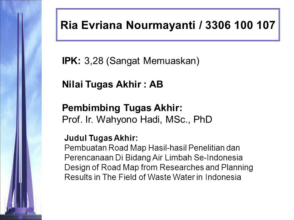 Ria Evriana Nourmayanti / 3306 100 107