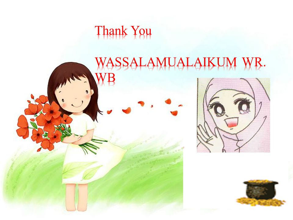 Thank You WASSALAMUALAIKUM WR. WB