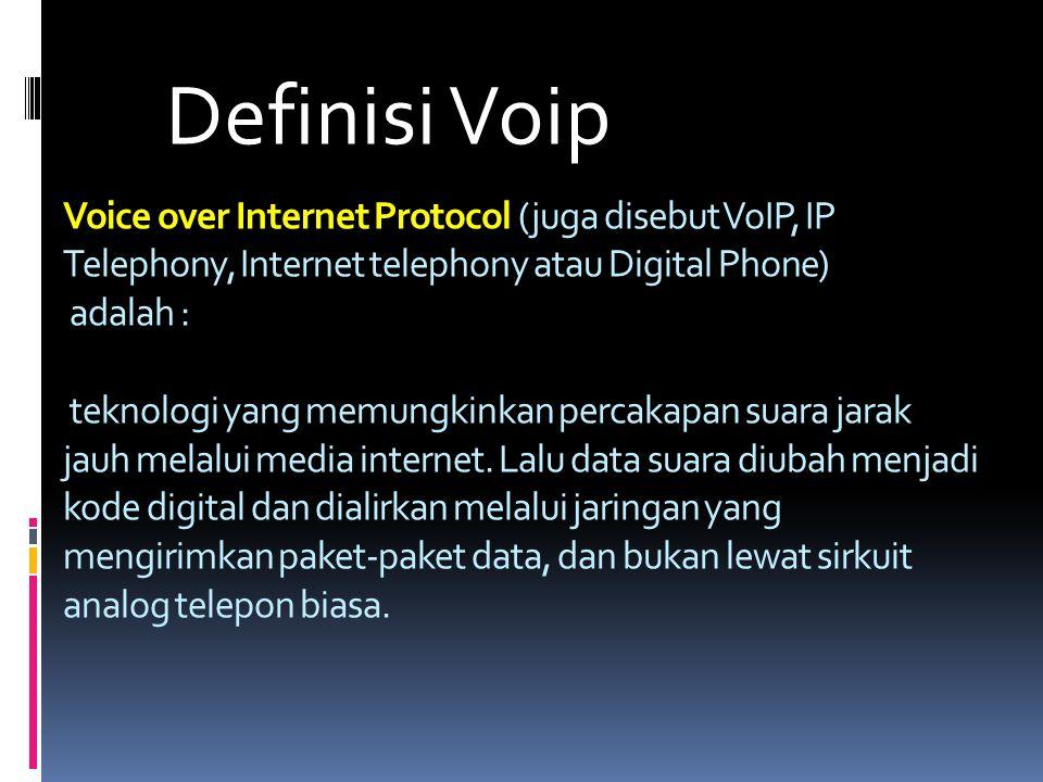 Definisi Voip