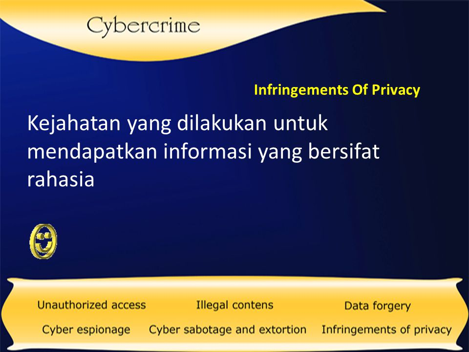 Infringements Of Privacy