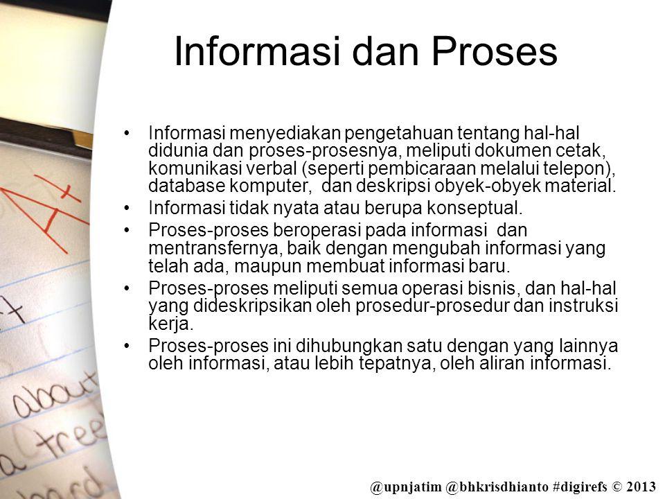 Informasi dan Proses