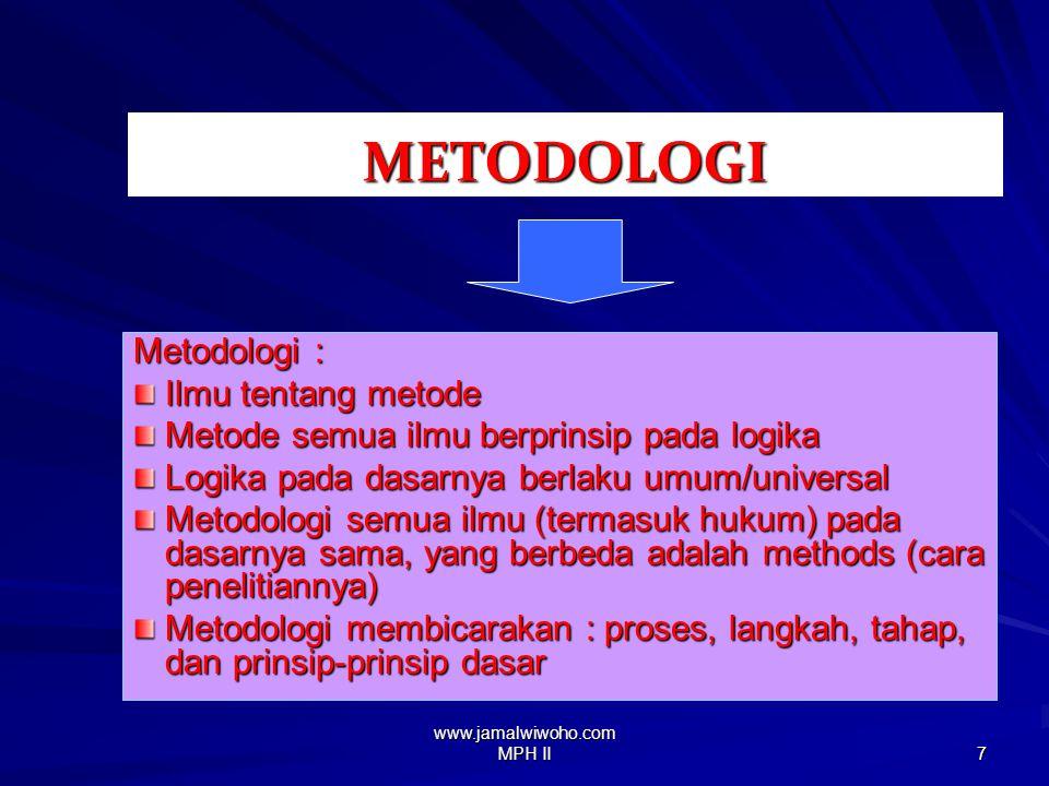www.jamalwiwoho.com MPH II