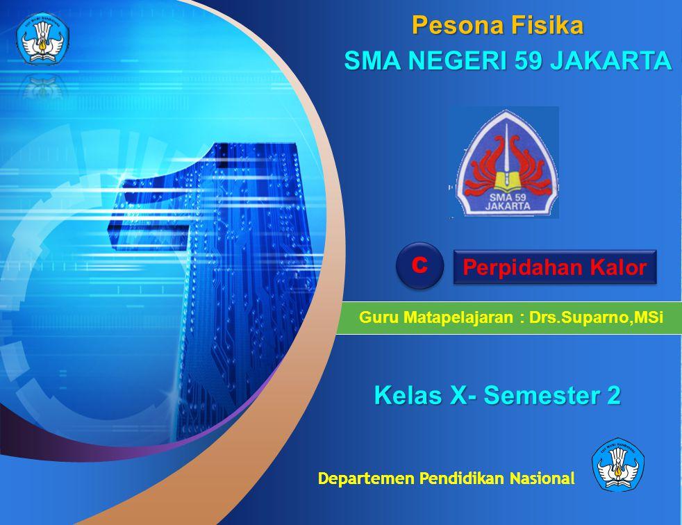 Guru Matapelajaran : Drs.Suparno,MSi